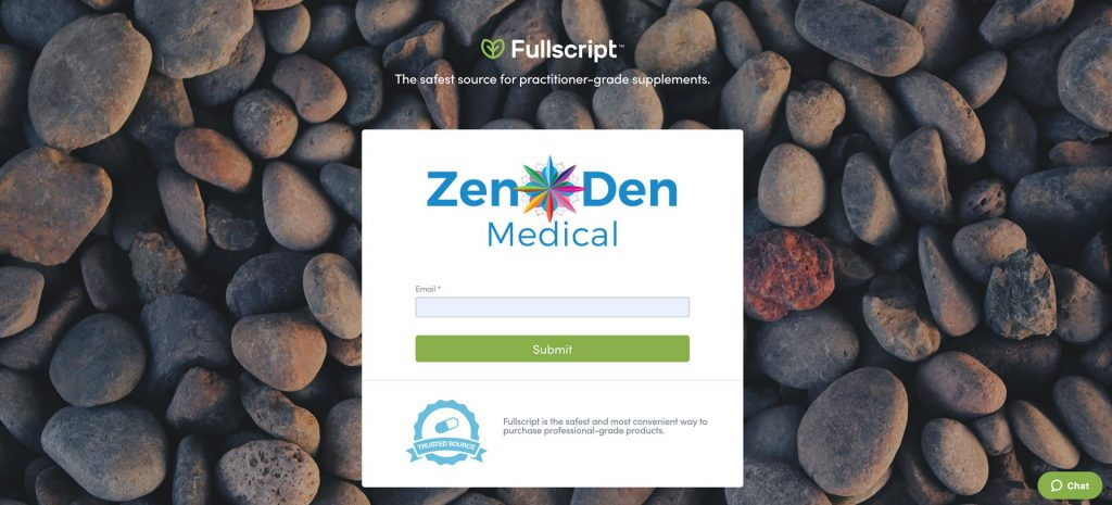 Zen Den Medical's Portal at Fullscript.com